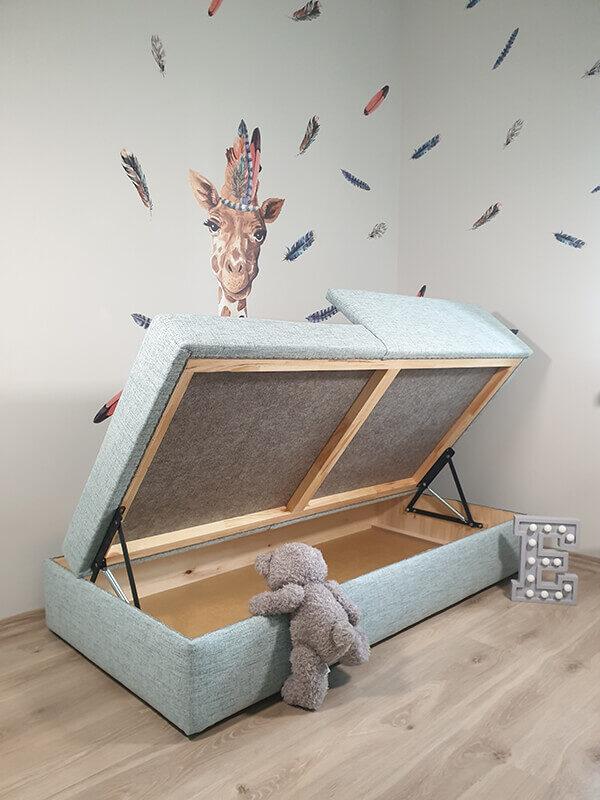 Bērnu gulta BoBo 180