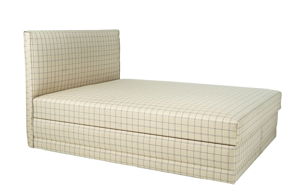 Divguļamā gulta PAULA ar audumu Aina