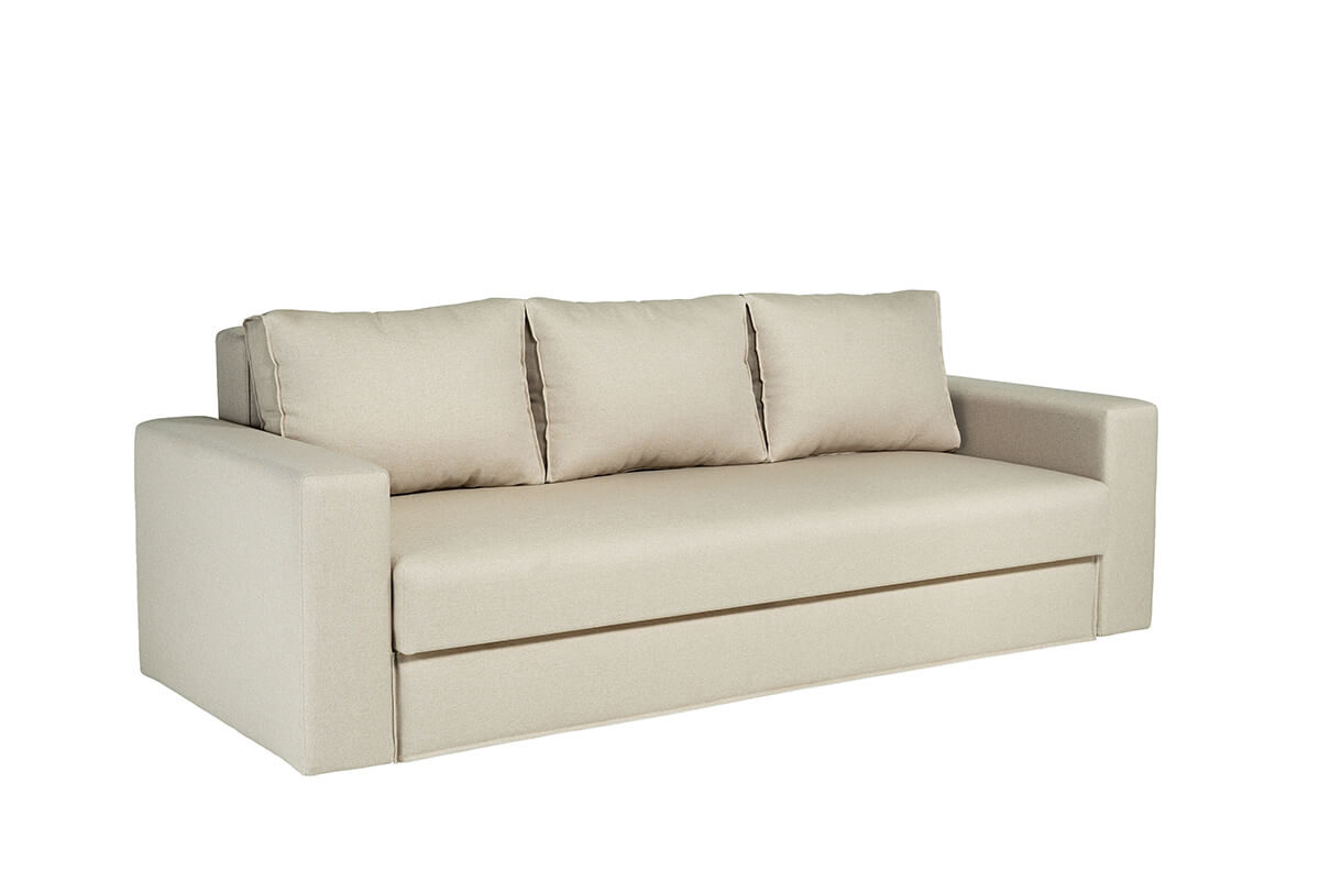 Dīvāns-gulta LAIMA K-15 ar audumu Aina