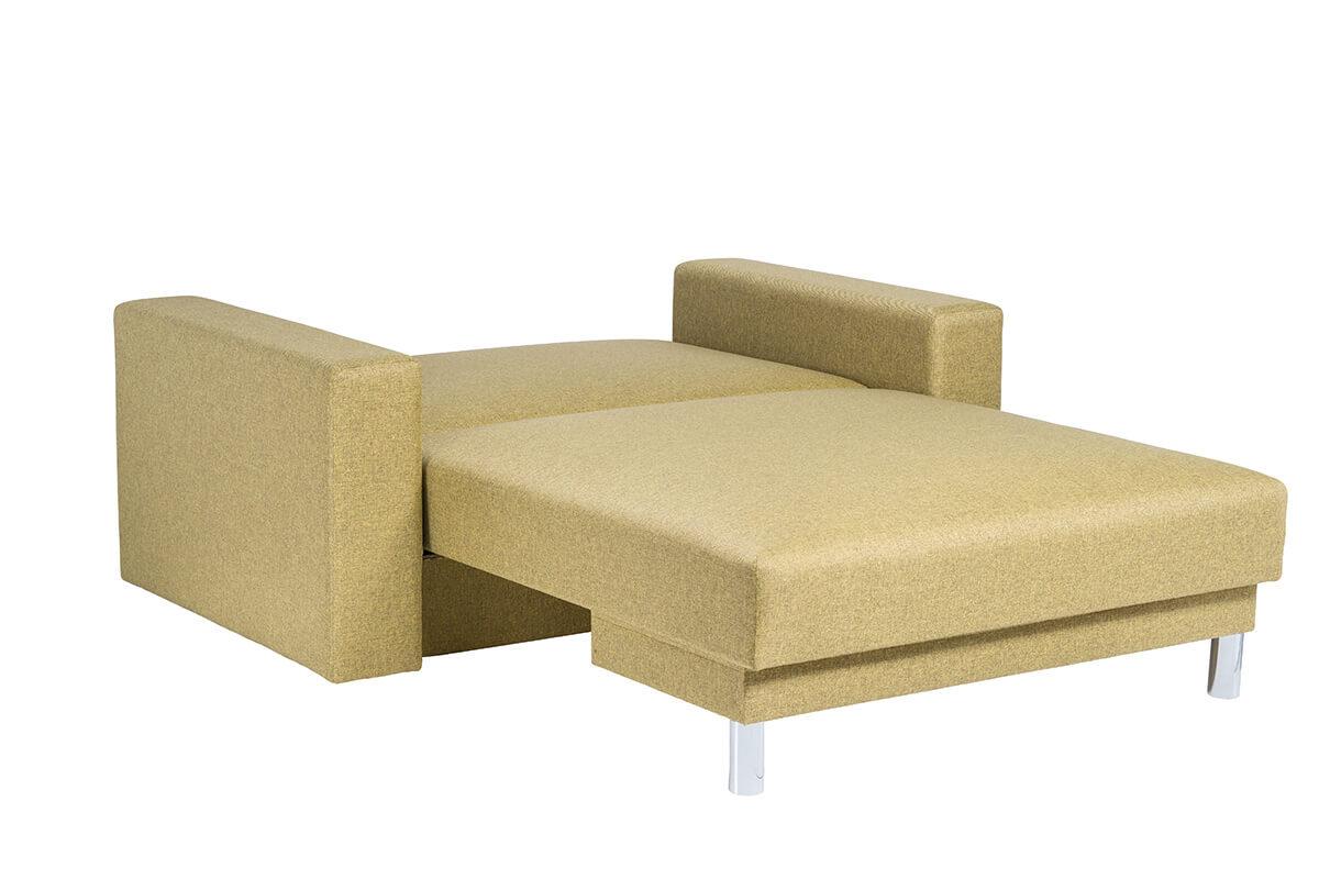 Dīvāns gulta NAMEJS-120 ar sāniem