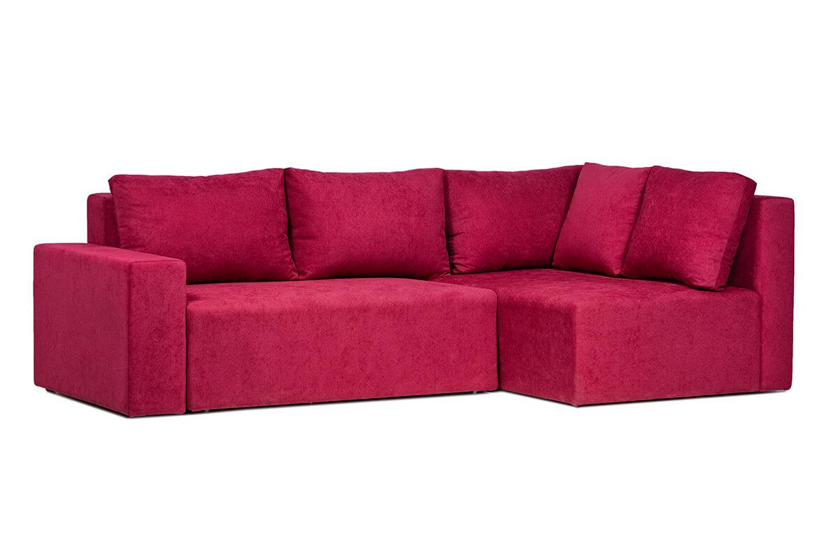 Stūra dīvāns OLIVER-S ar audumu Aina