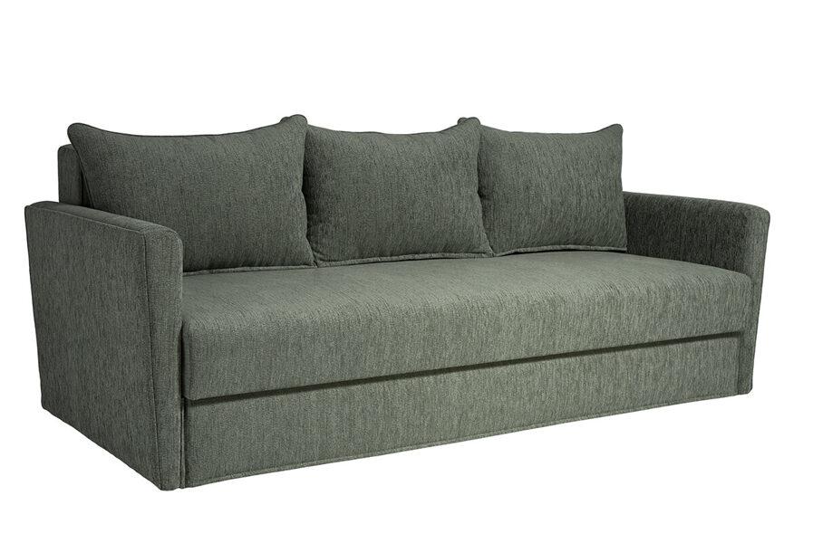 Dīvāns-gulta LĪBA ar audumu Stela vai Aina