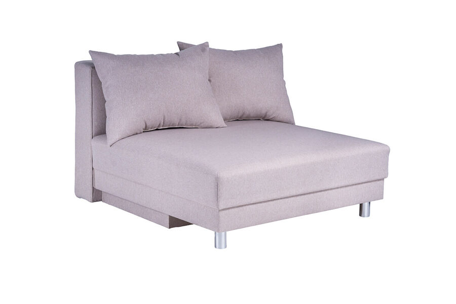 Dīvāns gulta NAMEJS-120 bez sāniem