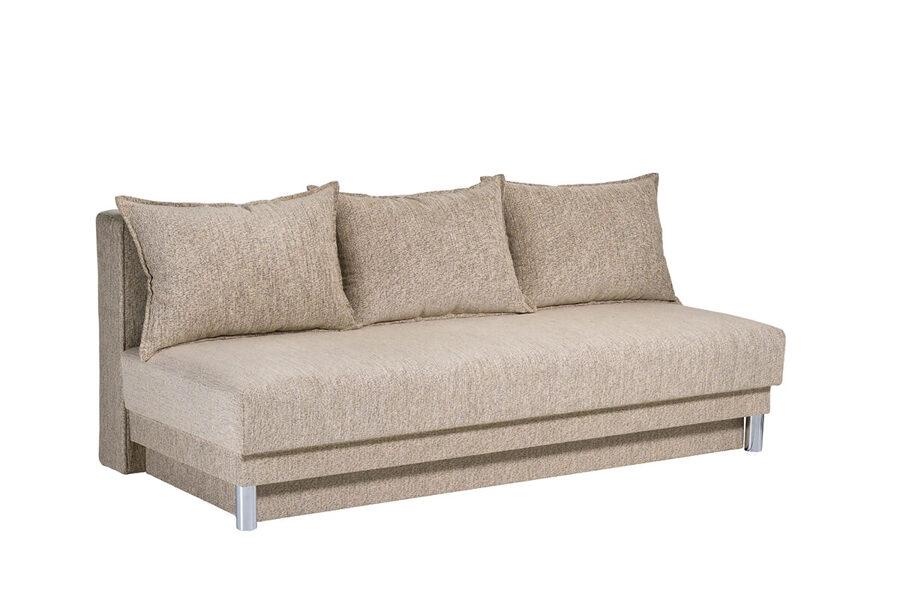 Dīvāns-gulta ULLA ar audumu Stela, Salsa vai Aina