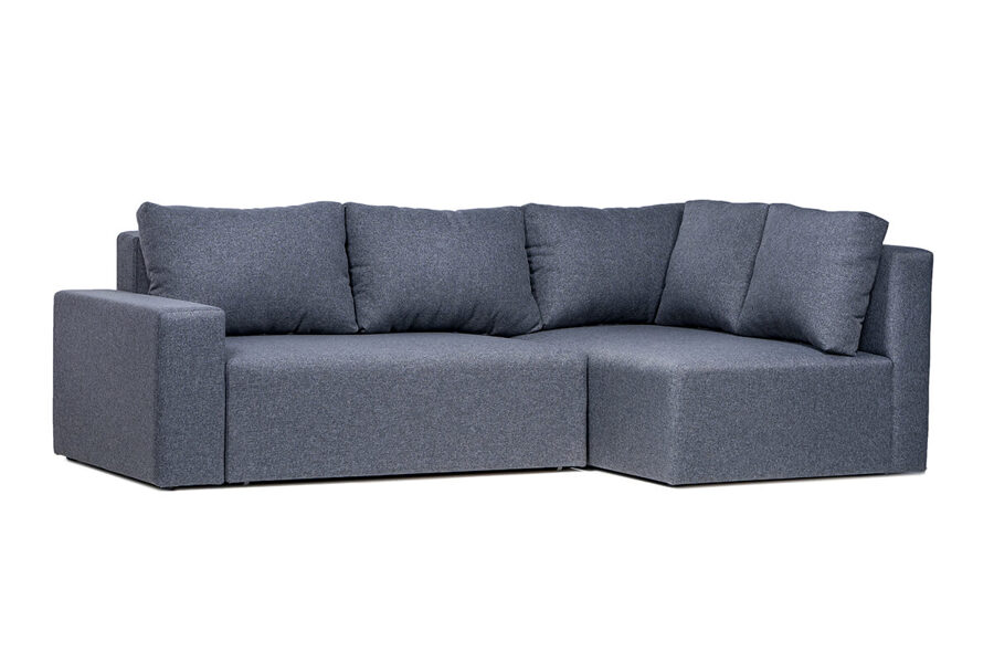 Stūra dīvāns OLIVER-S ar audumu Arija