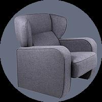 Atpūtas krēsli, soffas, krēsls priekšnamam
